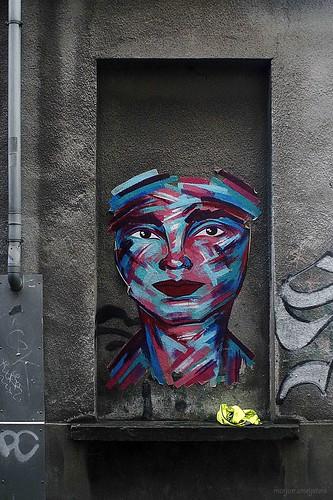 """""""Face"""", Street Art Ghent, Belgium"""