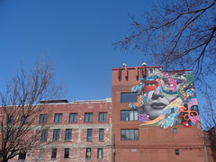 Tristan Eaton, Norma and the blue herons.