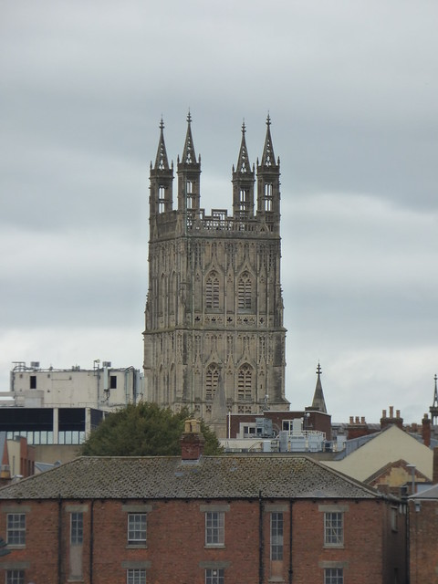 Photo:Gloucester Cathedral from Gloucester Docks By ell brown