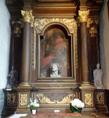 Liessies  Intérieur de  église de Sainte Hiltrude(Nord - france)  (10)