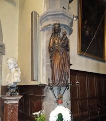 Liessies  Intérieur de  église de Sainte Hiltrude(Nord - france)  (8)