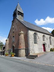Liessies  église de Sainte Hiltrude (Nord - france) (2)