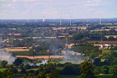 View from the Hessenstein observation tower   September 1, 2020   Panker - Plön District - Schleswig-Holstein - Germany