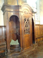 Liessies  Intérieur de  église de Sainte Hiltrude(Nord - france)  (7)