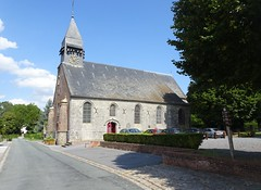 Liessies  église de Sainte Hiltrude (Nord - france) (3)