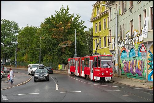 14-08-20 TWSB Tatra KT4DC 310, Gotha - Hersdorfstrasse