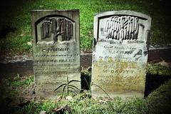MONUMENTS TO MARTHA ELLEN AND HENRY STRATTON McDAVITT