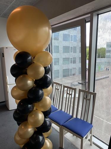 Ballonpilaar Breed Rond Pit Consultants Hoogvliet Rotterdam
