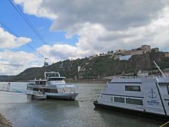 Koblenz in a nutshell: Rhein, Festung, Seilbahn, Königsbacher