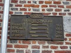 Solre-le-Château. Plaque de cocher