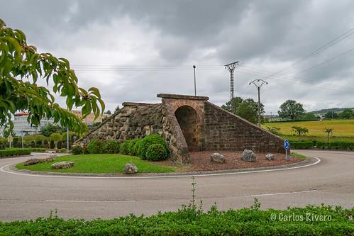 Antiguo puente en el Colesterol.
