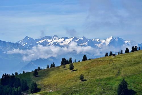 Rigi: View of the Bernese Alps