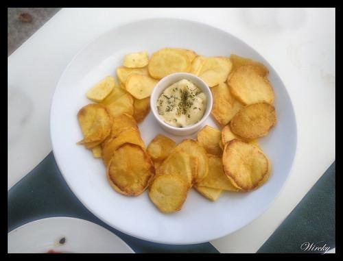Patatas alioli en Arenas de San Pedro
