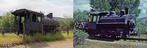 Nevada City, MT train comparison