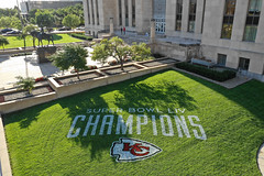 2020 Red Friday (Kickoff Edition): Lawn Paintings