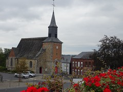 L'église Saint-Rémy de 1557 à Sains du Nord.