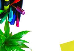 #flatlay #banner #post_it #work_stationery #motivation