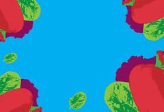 #food_art  #flatlay #banner #food_illustration #health_living