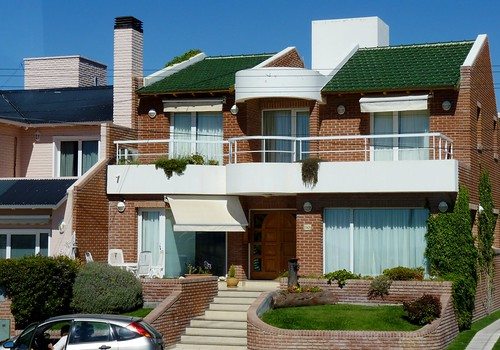 Houses with Balcony in Puerto Madryn, Argentina