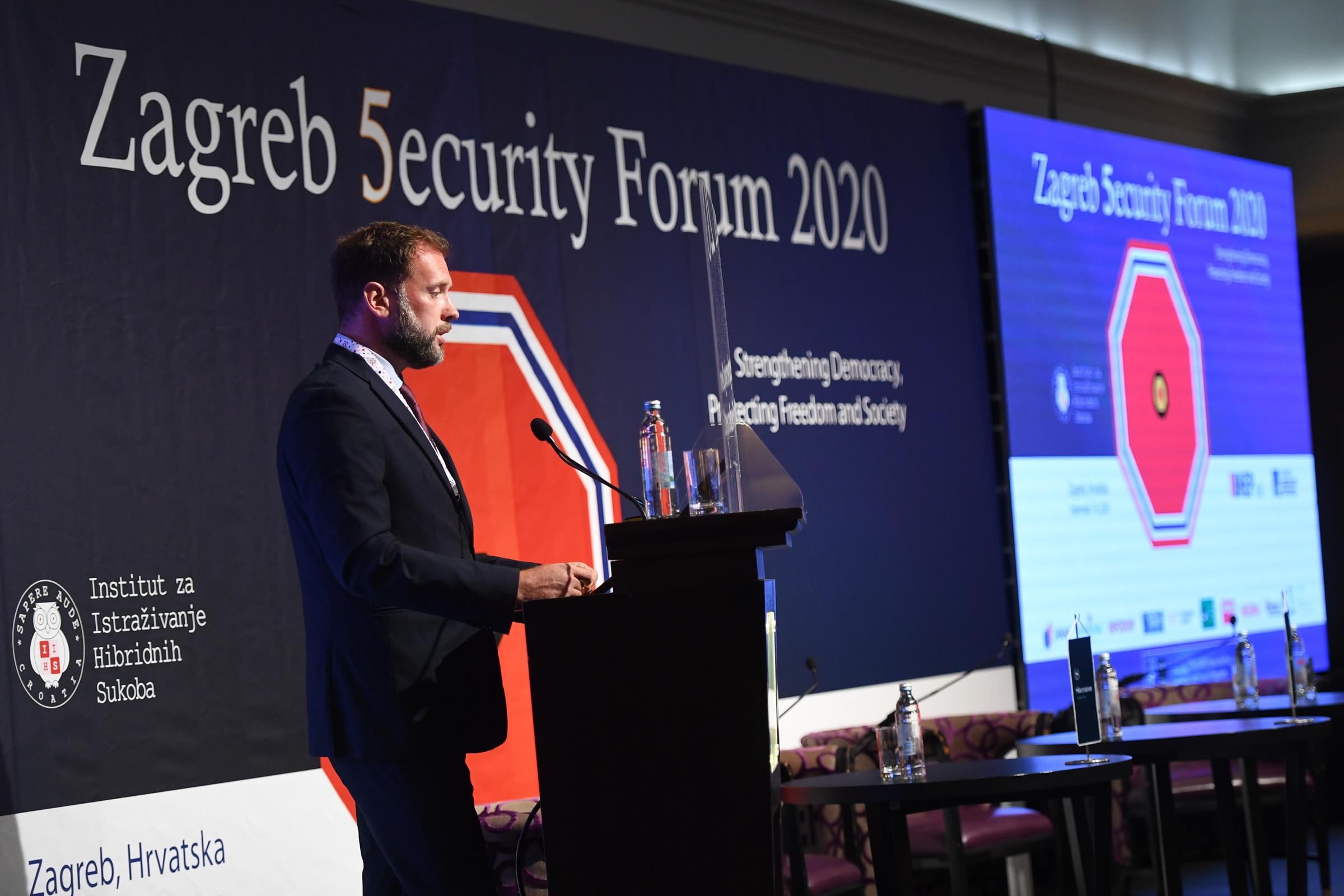 Ministar Banožić sudjelovao na Zagrebačkom sigurnosnom forumu