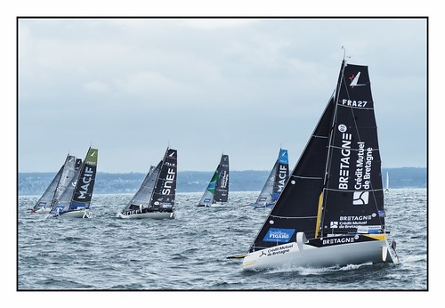 First port tack: they're off to the Fastnet Rock …