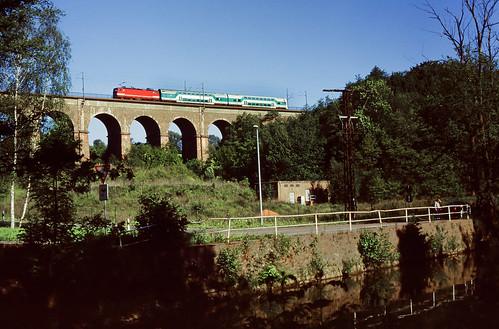 DB 143 x Viadukt Steina 31.05.1997