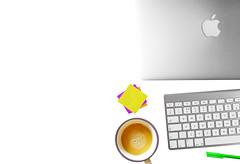 #flatlay #banner #macbook #apple_products #my_desk