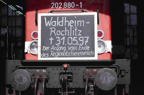 DB 202 880 Bw Rochlitz 31.05.1997