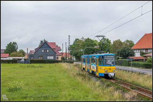 14-08-20 TWSB Tatra KT4DC 303, Wahlwinkel - Friedichroder Strasse