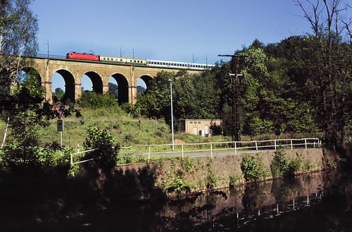 DB 112 x Viadukt Steina 31.05.1997
