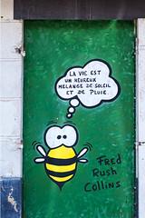 Le petite abeille qui monte...
