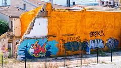 Quartier en cours de réhabilitation... Supports grandioses pour Graffeurs en tout genre