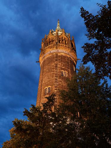 Turm der Evangelischen Schlosskirche
