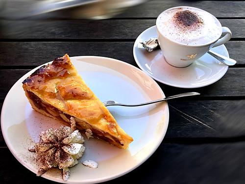 Kaffeepause in Bergen auf Rügen