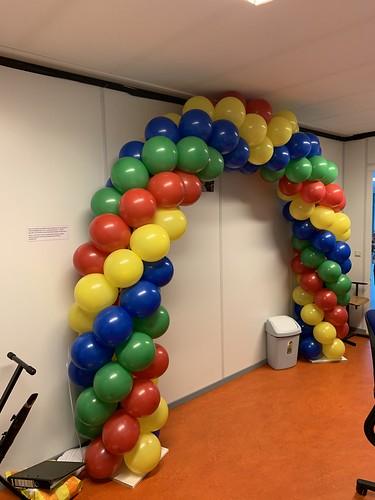 Ballonboog 6m Diplomering Mytylschool de Brug VSO Rotterdam Geslaagd