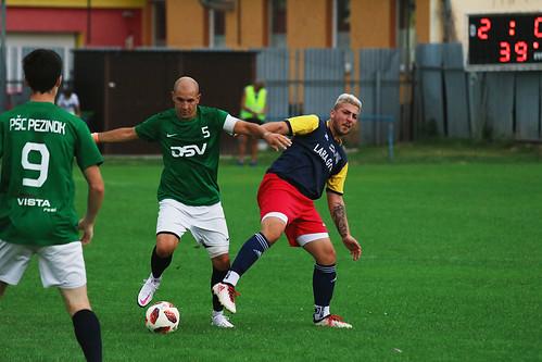 B-tím: PŠC Pezinok - FC Záhorská Ves (08/2020)