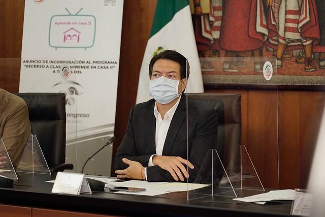 """03/09/2020 """"Incorporación al programa Aprende en Casa II"""" al Canal del Congreso"""