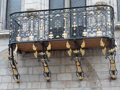 Balcon doré