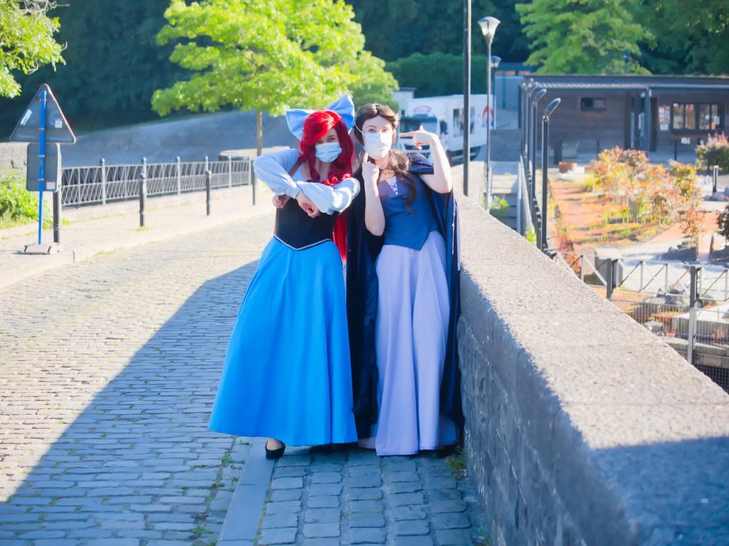related image - Shooting La Petite Sirène - Ariel & Vanessa - Mito Lowe & Dshubba - Durbuy - Belgique -2020-07-31- P2211148