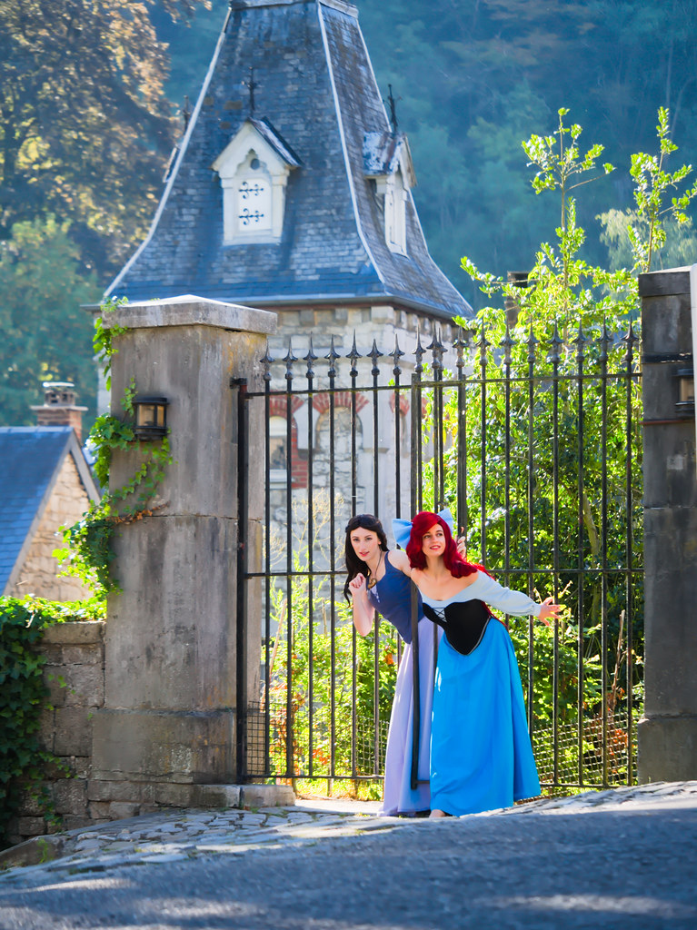 related image - Shooting La Petite Sirène - Ariel & Vanessa - Mito Lowe & Dshubba - Durbuy - Belgique -2020-07-31- P2211153