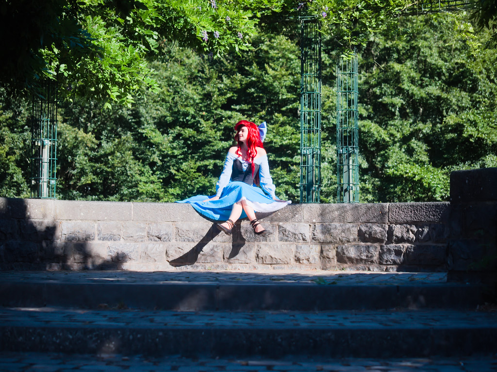 related image - Shooting La Petite Sirène - Ariel & Vanessa - Mito Lowe & Dshubba - Durbuy - Belgique -2020-07-31- P2211224
