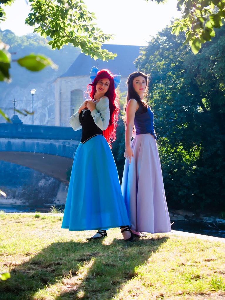 related image - Shooting La Petite Sirène - Ariel & Vanessa - Mito Lowe & Dshubba - Durbuy - Belgique -2020-07-31- P2211117