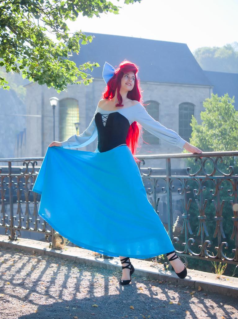 related image - Shooting La Petite Sirène - Ariel & Vanessa - Mito Lowe & Dshubba - Durbuy - Belgique -2020-07-31- P2211131