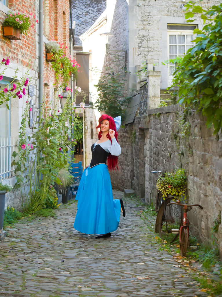 related image - Shooting La Petite Sirène - Ariel & Vanessa - Mito Lowe & Dshubba - Durbuy - Belgique -2020-07-31- P2211208