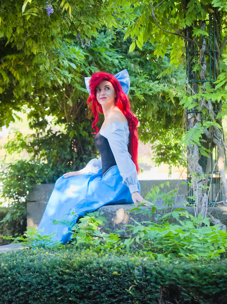 related image - Shooting La Petite Sirène - Ariel & Vanessa - Mito Lowe & Dshubba - Durbuy - Belgique -2020-07-31- P2211227