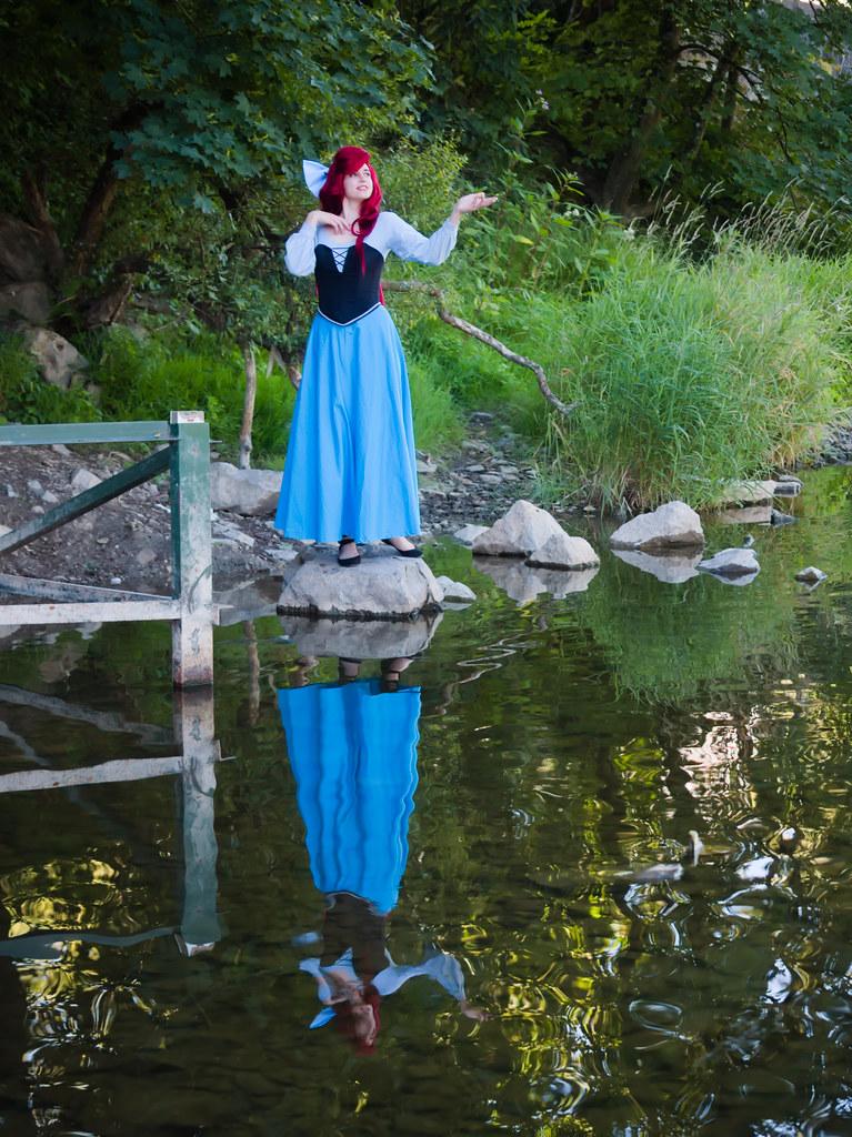 related image - Shooting La Petite Sirène - Ariel & Vanessa - Mito Lowe & Dshubba - Durbuy - Belgique -2020-07-31- P2211311