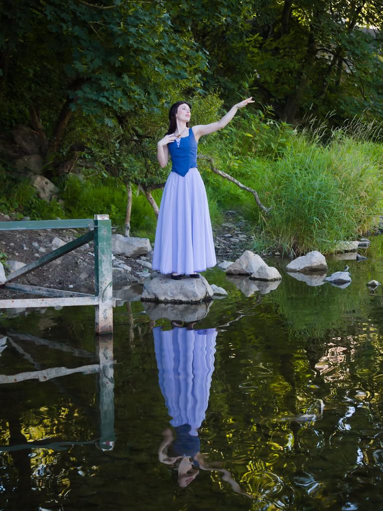 related image - Shooting La Petite Sirène - Ariel & Vanessa - Mito Lowe & Dshubba - Durbuy - Belgique -2020-07-31- P2211317