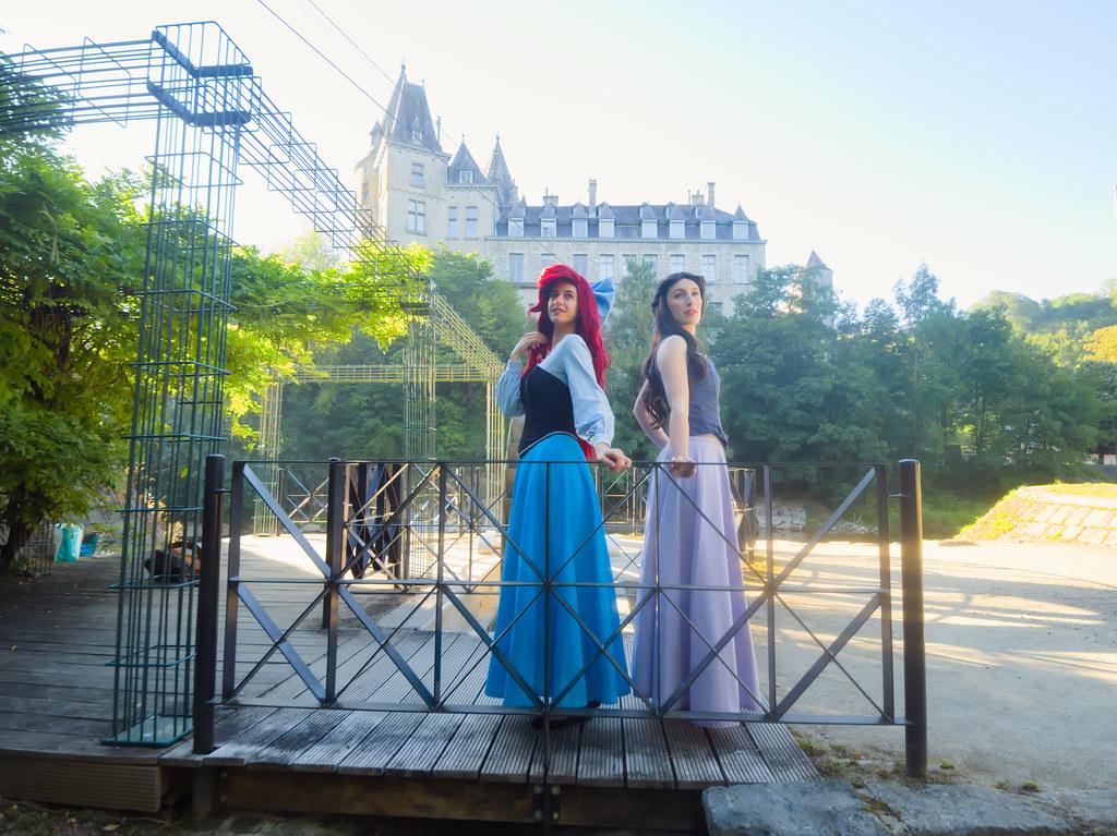 related image - Shooting La Petite Sirène - Ariel & Vanessa - Mito Lowe & Dshubba - Durbuy - Belgique -2020-07-31- P2211081