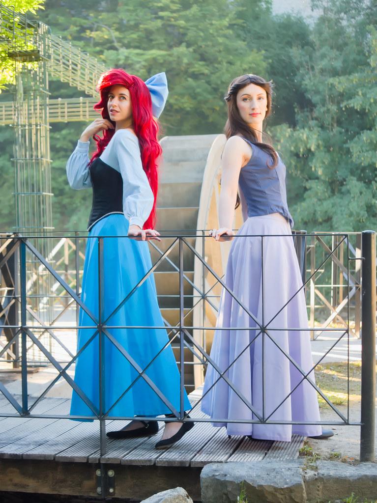related image - Shooting La Petite Sirène - Ariel & Vanessa - Mito Lowe & Dshubba - Durbuy - Belgique -2020-07-31- P2211086