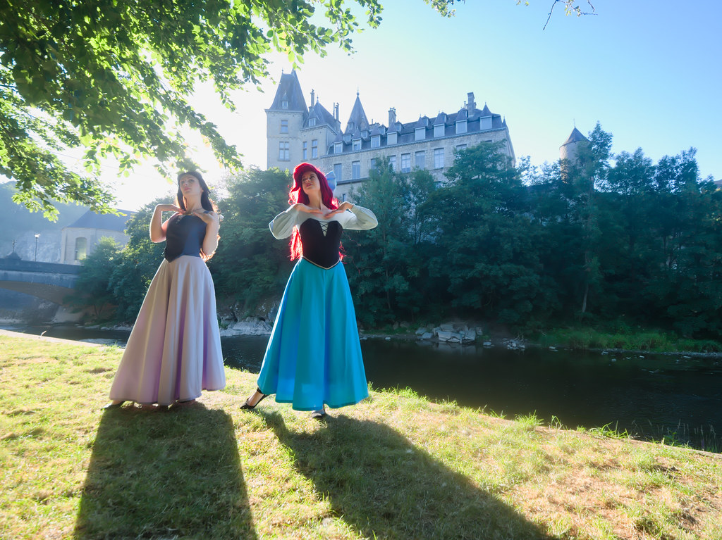 related image - Shooting La Petite Sirène - Ariel & Vanessa - Mito Lowe & Dshubba - Durbuy - Belgique -2020-07-31- P2211105